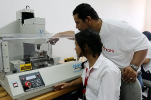 Inces Inaugura Laboratorio